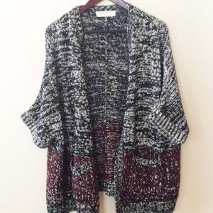 Zara Knit blanket jacket Cardigan